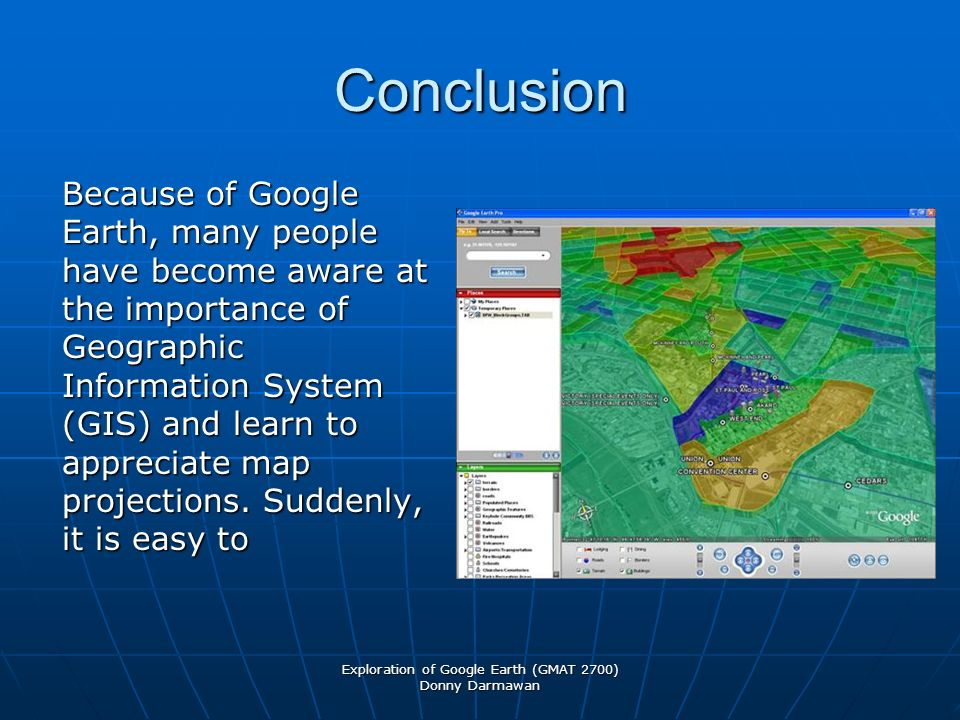 Map projections exploration of google earth gmat 2700 geometry of 11 exploration of google earth gmat 2700 donny darmawan conclusion because of google earth many people have become aware at the importance of geographic gumiabroncs Gallery