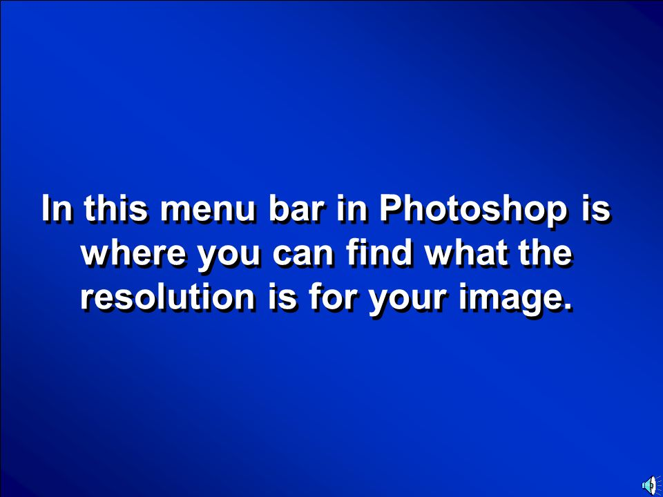 © Mark E. Damon - All Rights Reserved Scores Resolution Final Jeopardy Question