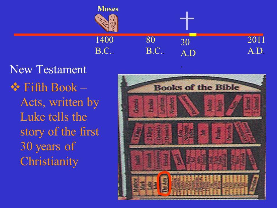 What Books Of The Bible Were Written By Luke