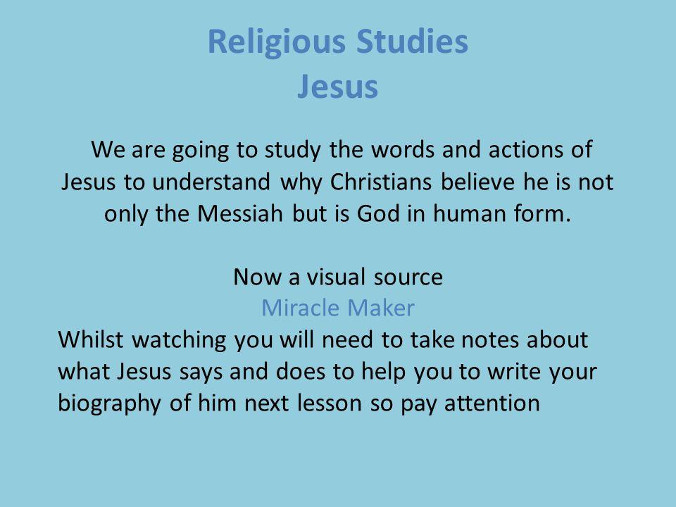 Help Me Write Religious Studies Presentation that