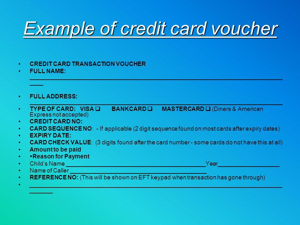 EFTPOS and credit Card payments Jana Skriveris Line 4 Due: 14 th Nov ...