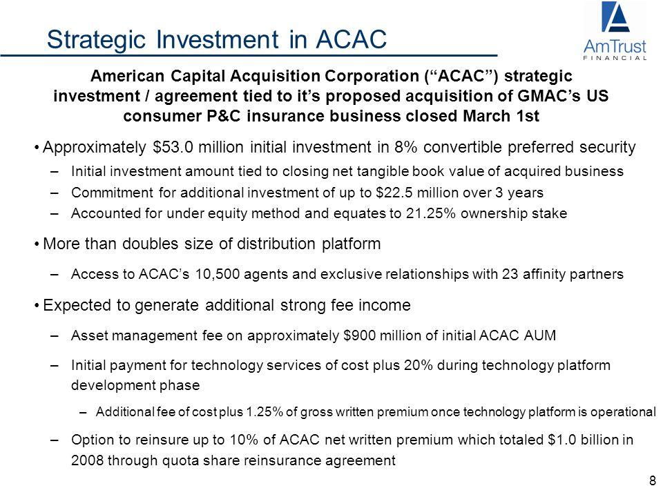 Amtrust Financial Investor Presentation First Quarter Ppt Download