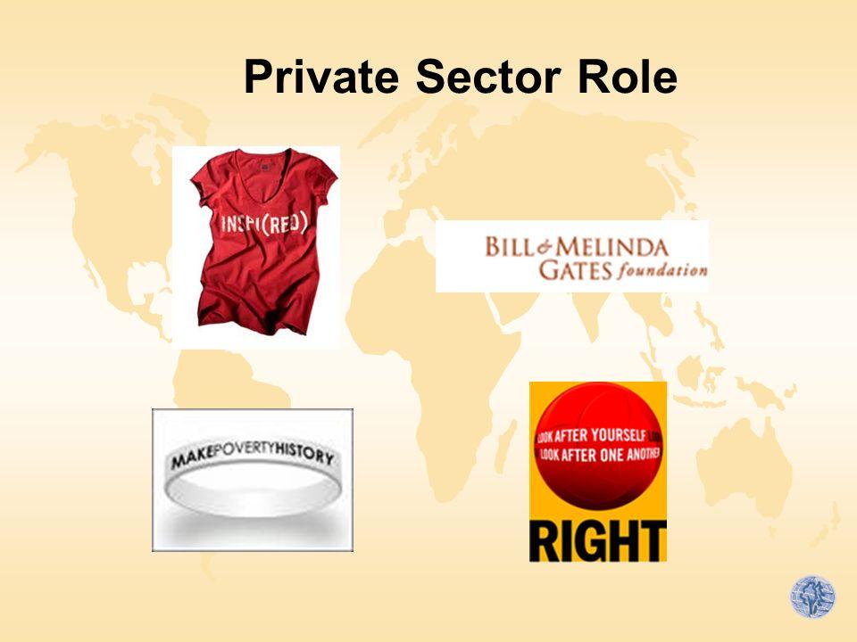 Private Sector Role