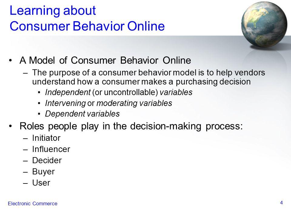 consumer behaviour in the consumer electronics
