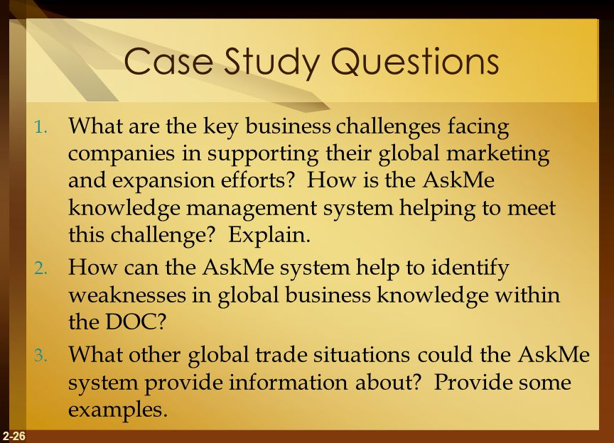 international business case study 2 essay International business case study some people outside the united states say teens exposed to large doses of us culture on mtv will identify.