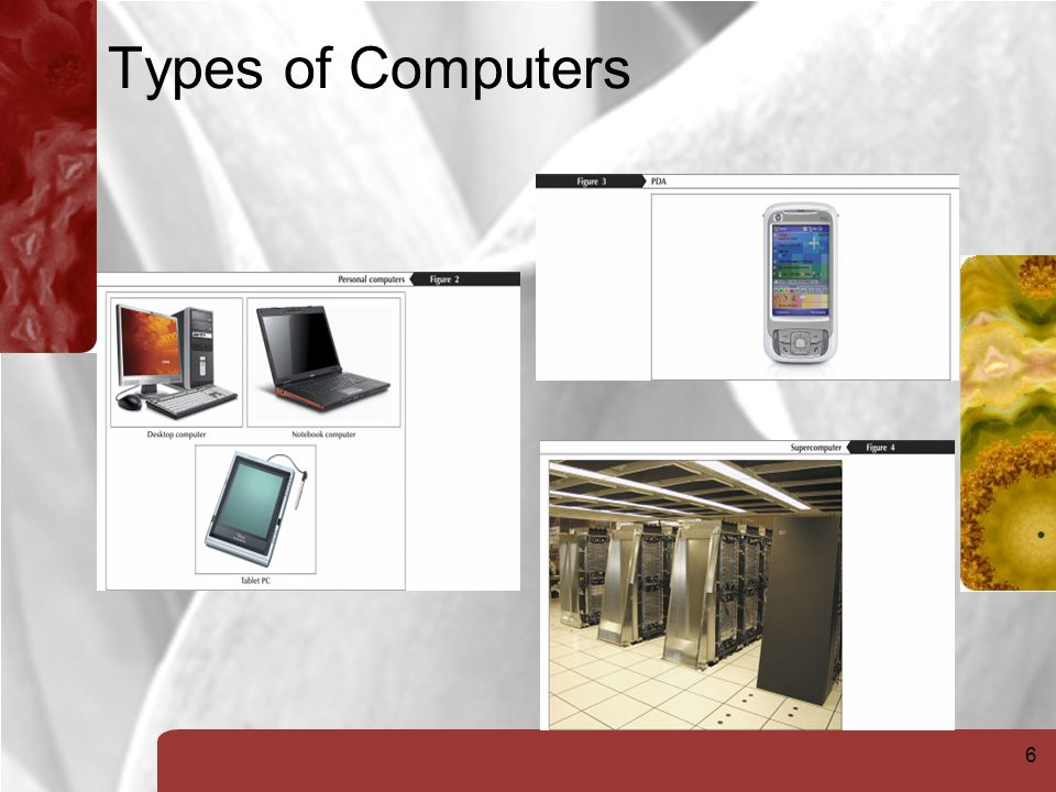 6 Types of Computers
