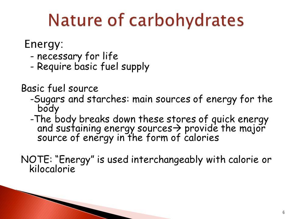 6 Energy Necessary