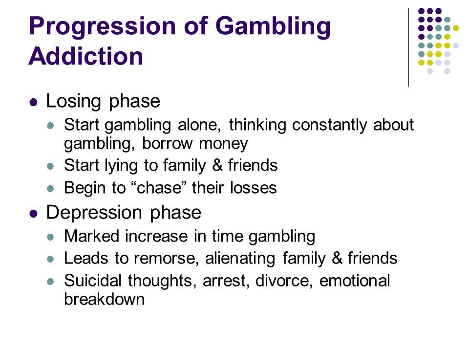Gambling addiction progression claridge casino and ballys