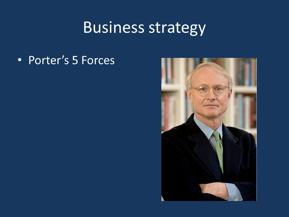 Business strategy Porter's 5 Forces