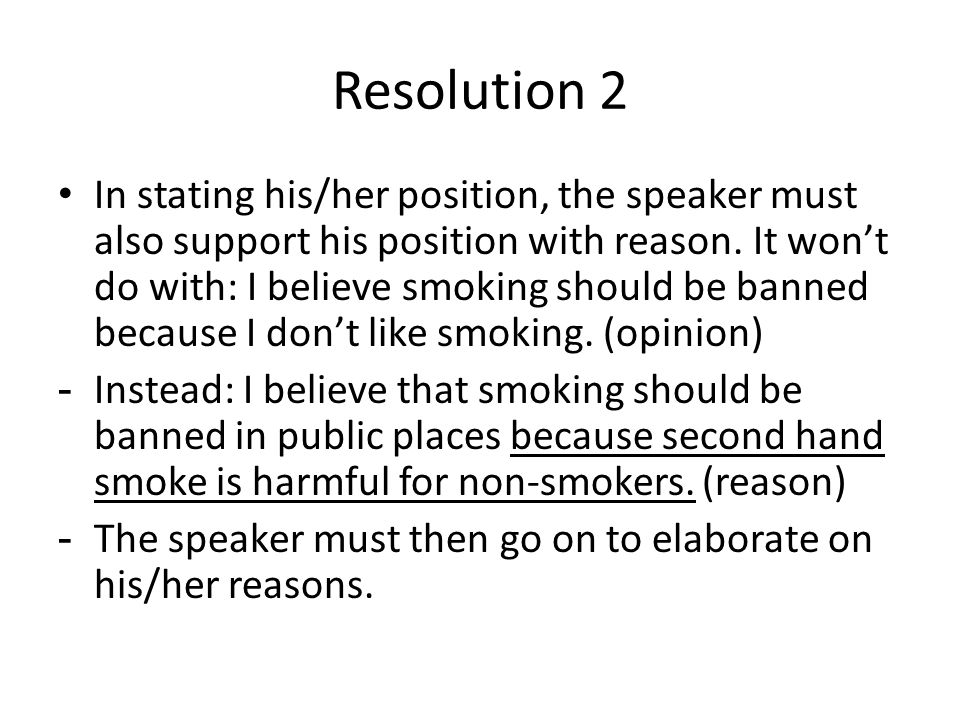 essay about why smoking should be banned