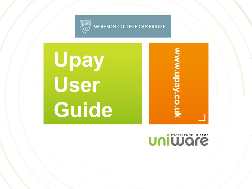 Upay User Guide