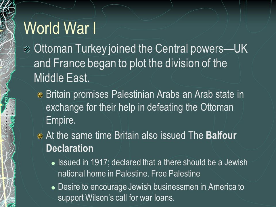 arab -israeli conflict crisis in the middle east. - ppt download