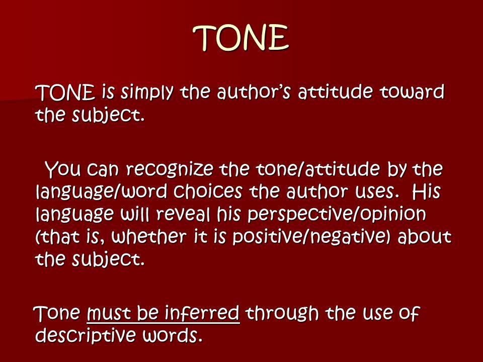 author s tone powerpoint