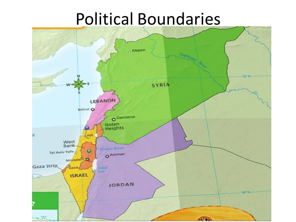 Political Boundaries