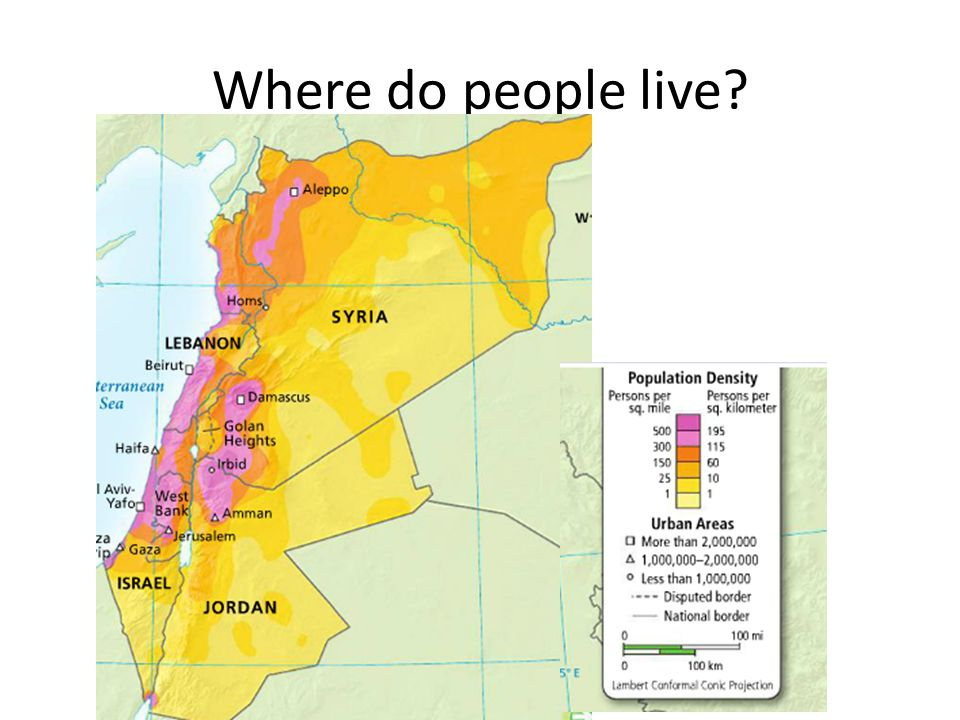 Where do people live