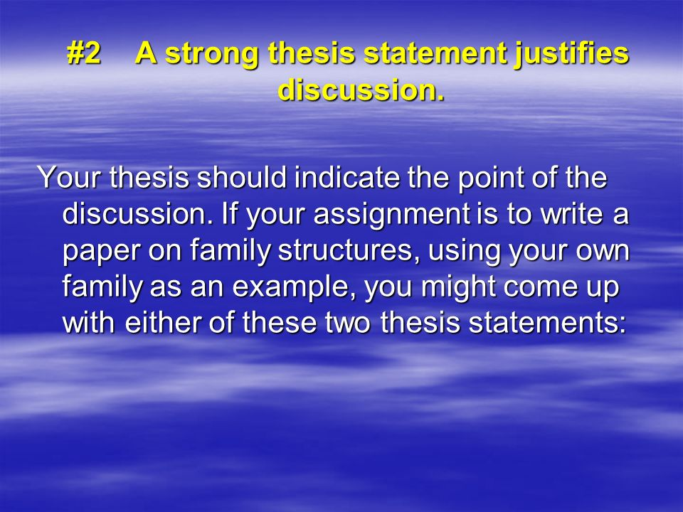 a strong thesis is Simple research paper strong thesis statement amorce de dissertation philo social science phd research proposal.