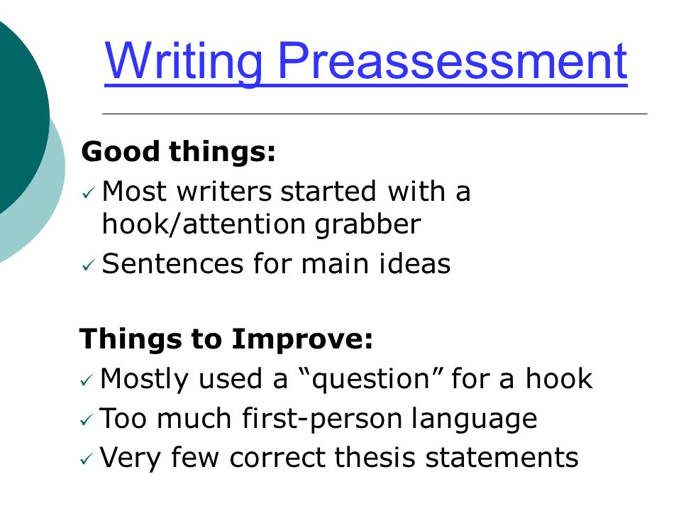 good first sentences for essays The structure and elements of a paragraph with examples to to write a good paragraph prove the topic sentence or back up the first or second main.