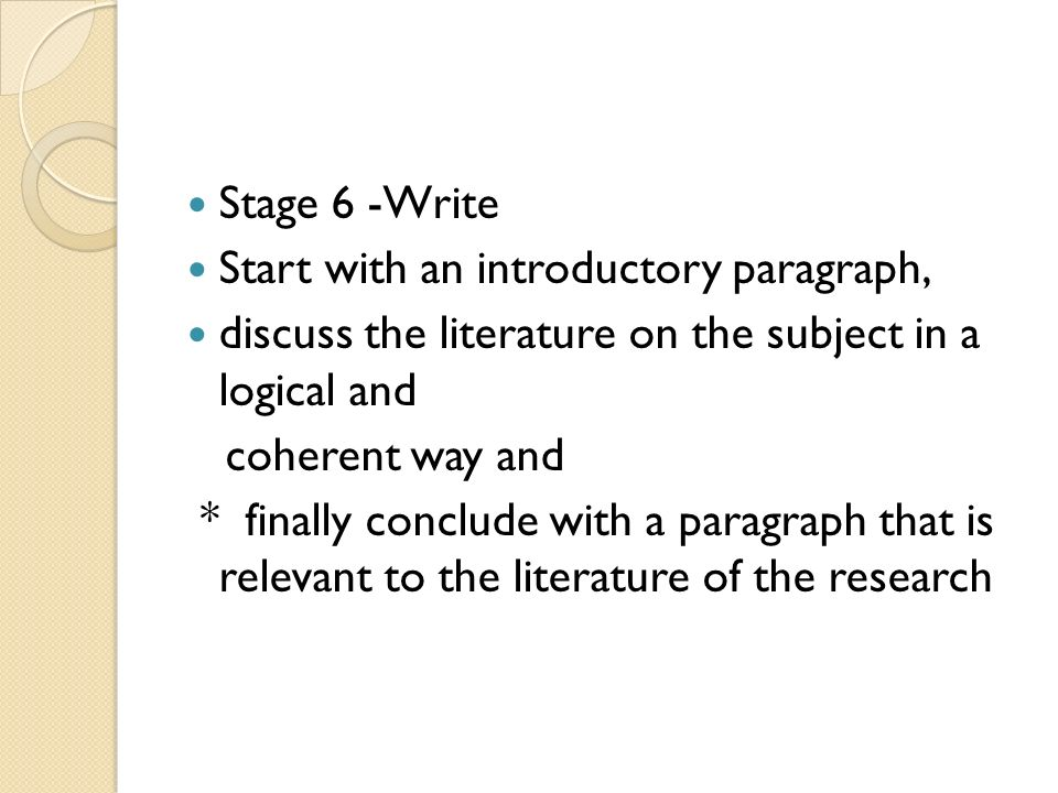 Help Writing Literature Review Dissertation