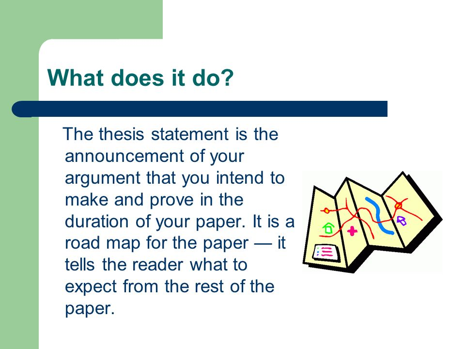 Writing The Thesis Statement Of A Literary Analysis Paper  Ppt   What