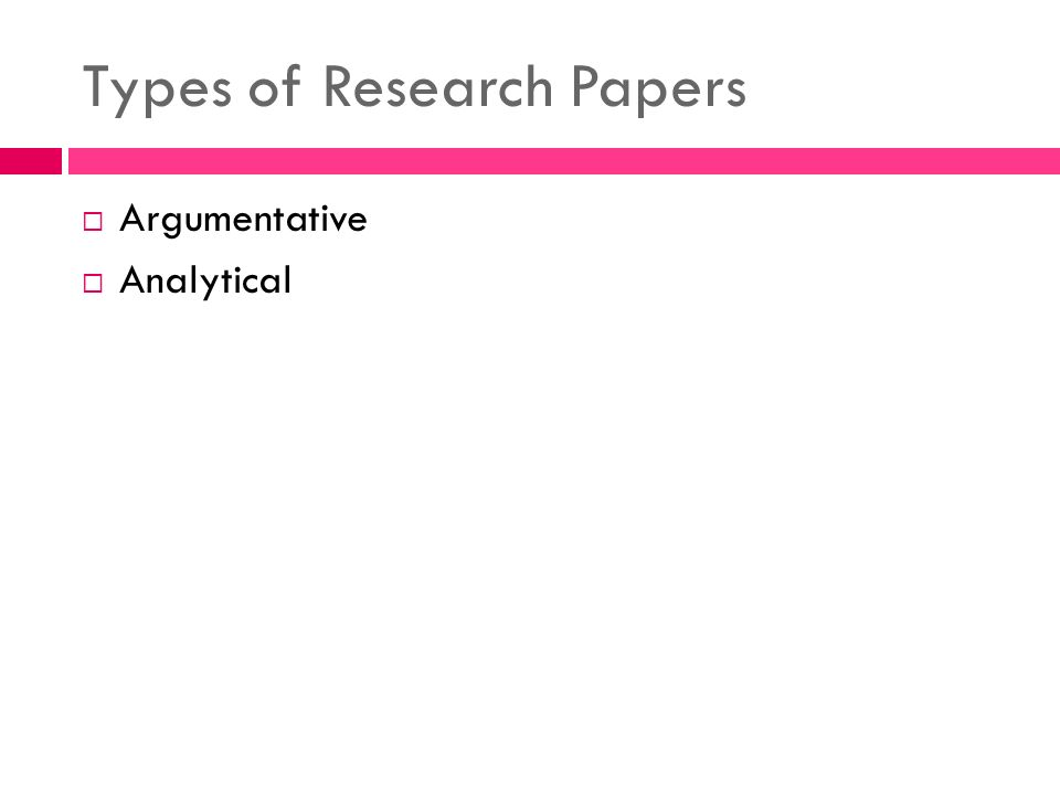 types of references in research papers The sample reference list below illustrates the most common types of references please note: in your paper, the list of references should be in alphabetical order according to the first author's last name.