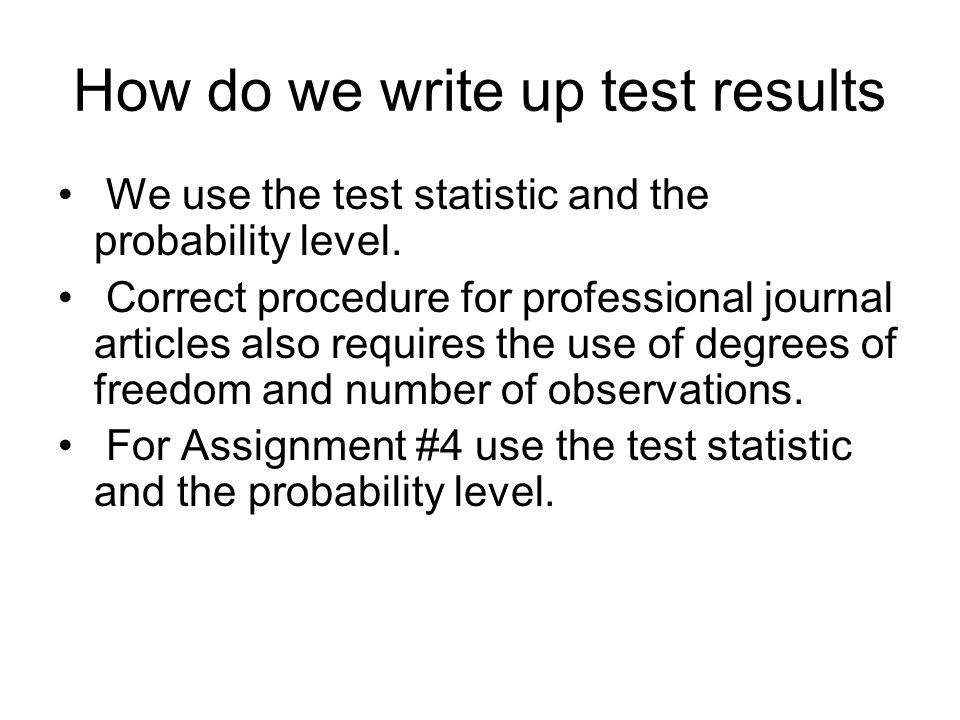 How to write up stats in Results section?