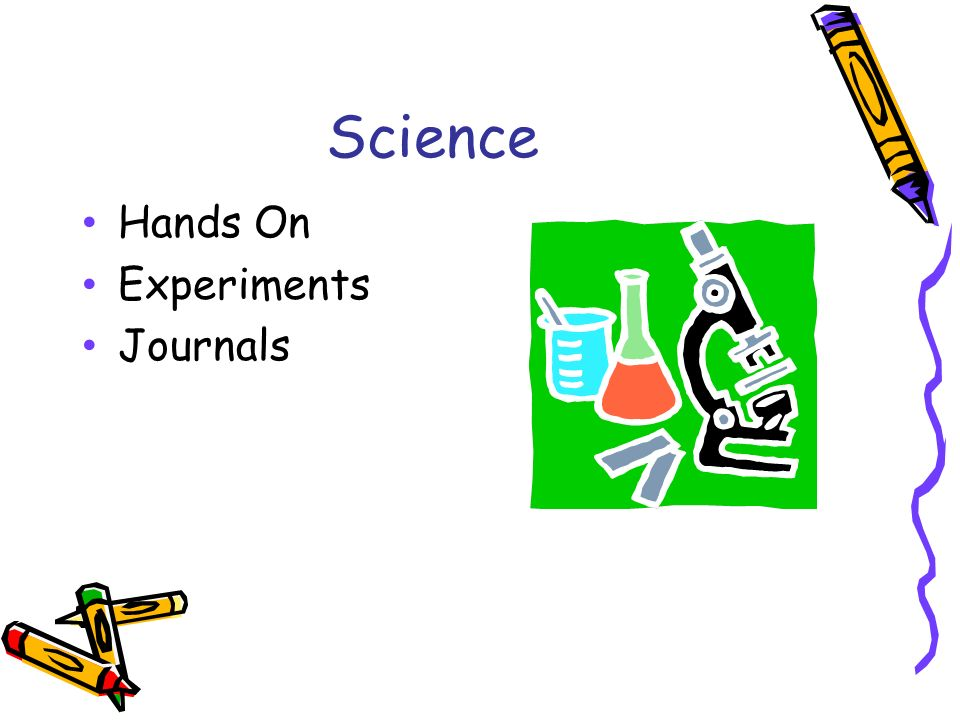 Science Hands On Experiments Journals