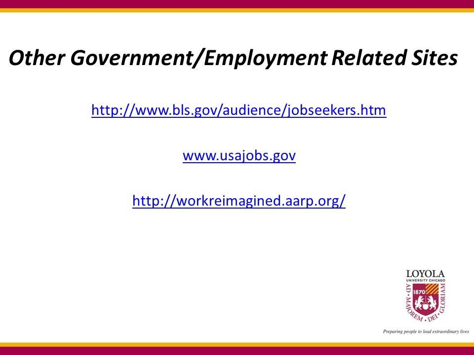 Other Government/Employment Related Sites