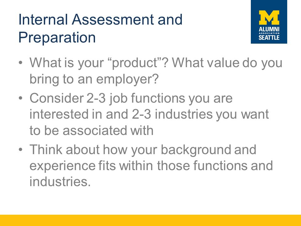 Internal Assessment and Preparation What is your product .