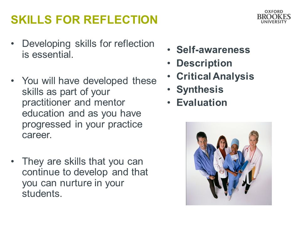 reflection self awareness in nursing