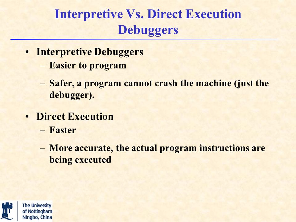 Interpretive Vs.