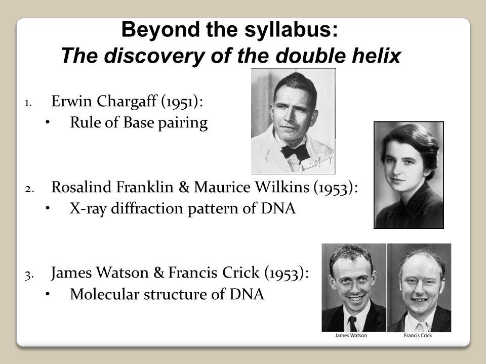 Biology-james watson and francis crick?