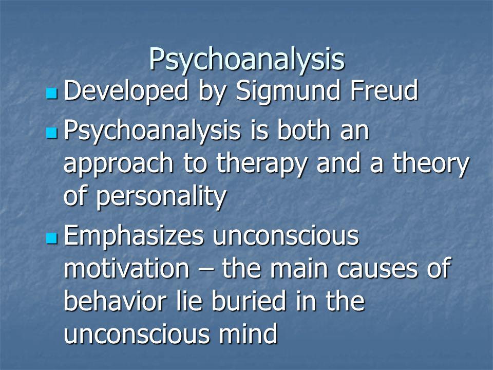 Psychoanalysis Essay