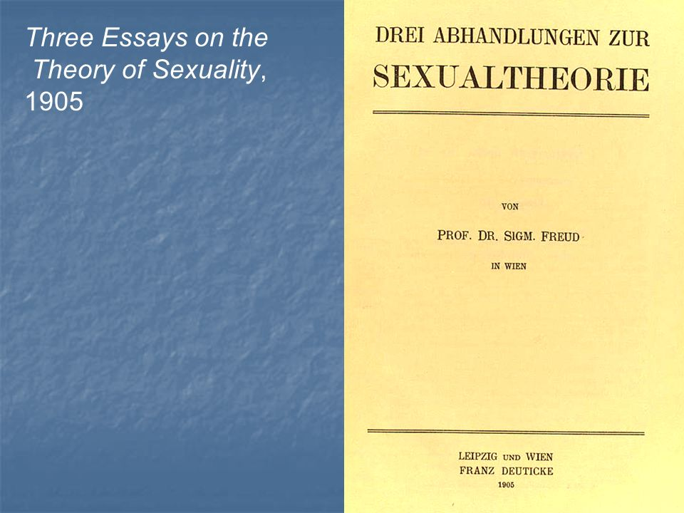 freud three essays on the theory of sexuality online ՀԱԱՀ ԳԻՆԵԳՈՐԾՈՒԹՅԱՆ ՈՒՍՈՒՄՆԱԱՐՏԱԴՐԱԿԱՆ ԿԵՆՏՐՈՆ