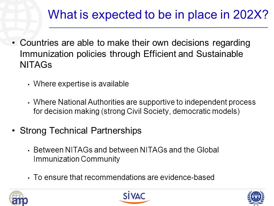What is expected to be in place in 202X.