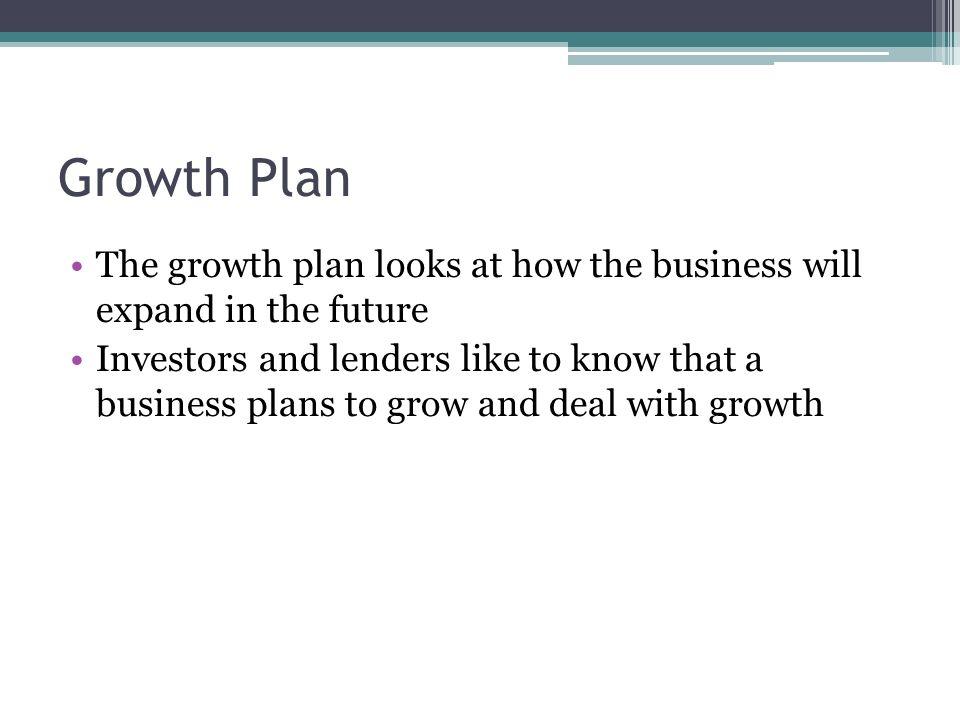 How a business plan looks like