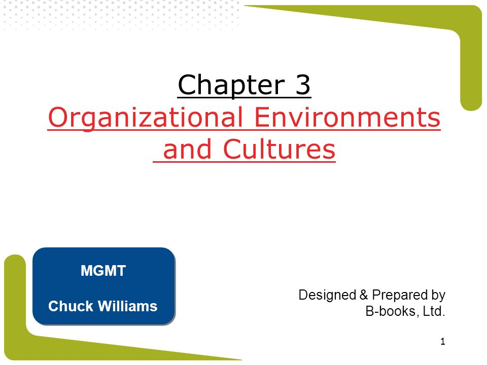 32 Internal Environments Internal Environment The trends and events within an organization that affect the management, employees, and organizational culture  important because it affects what people think, feel, and do at work  organizational culture is the set of key values, beliefs, and attitudes shared by organizational members 5 5