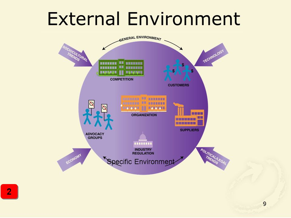 9 External Environment 2 2 Specific Environment