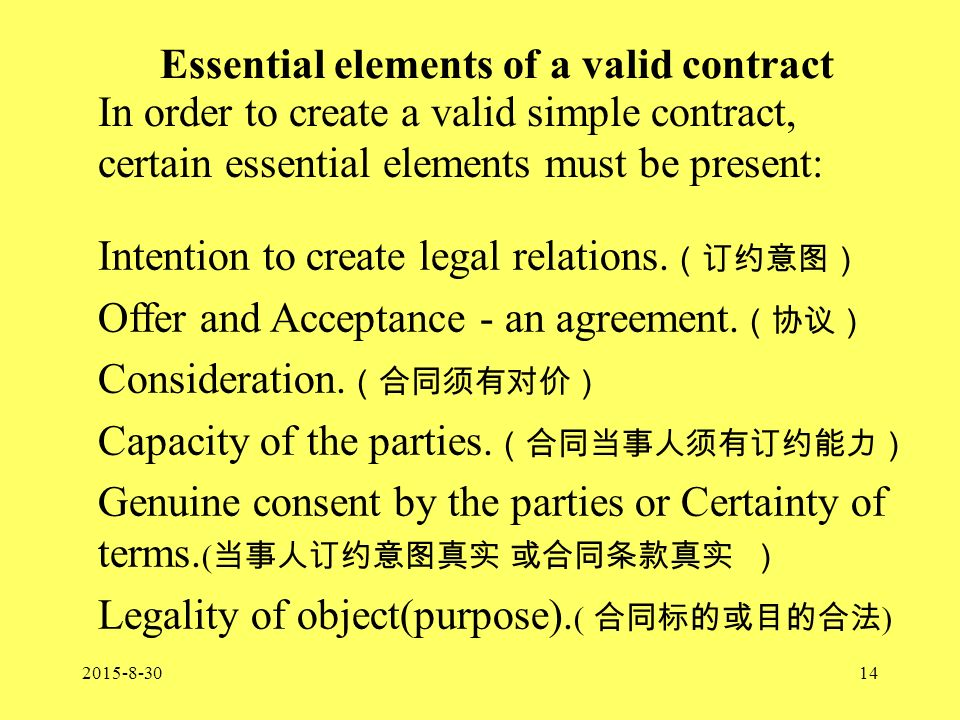 Introduction To Contract Law Am I Lumbered With A Dodgy Contract