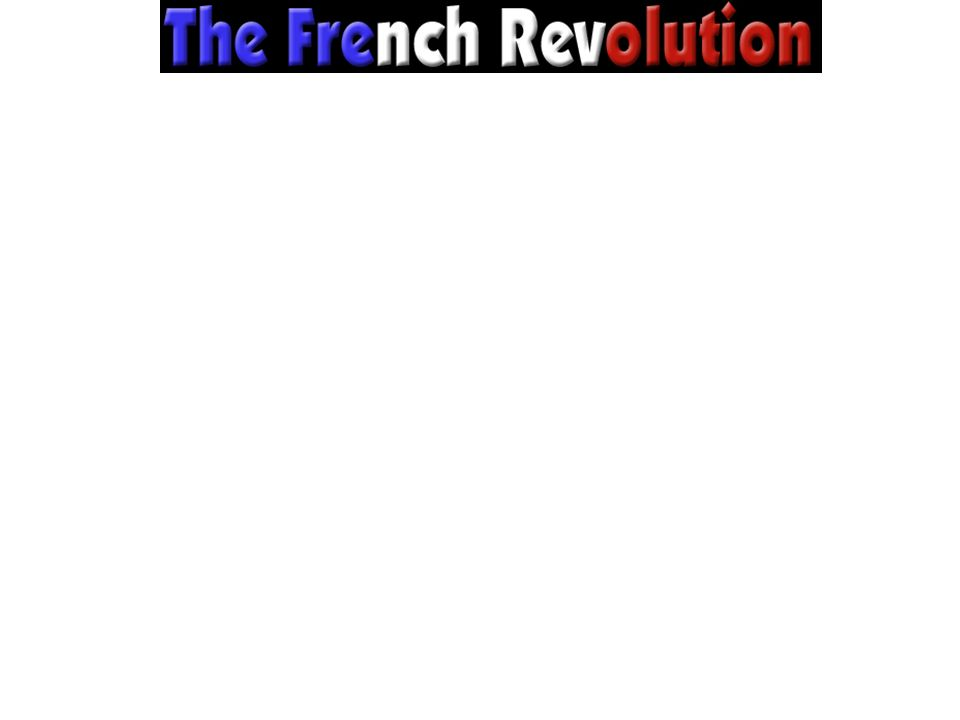 Long Range Problems leading to the French Revolution Political/Social Louis XV and XVI are incompetent/unable to govern effectively.