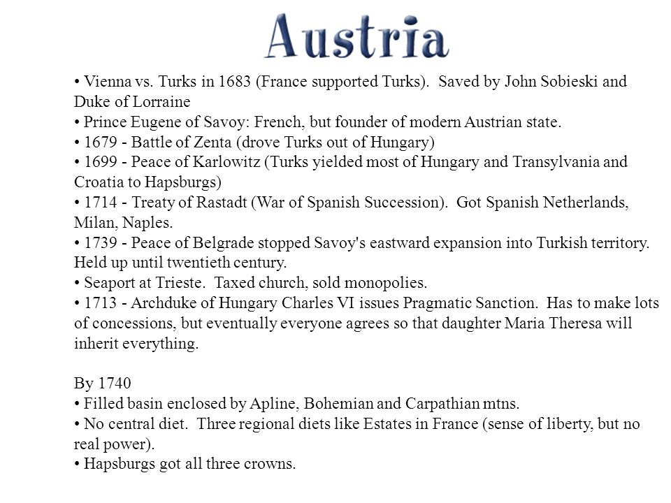 Vienna vs. Turks in 1683 (France supported Turks).