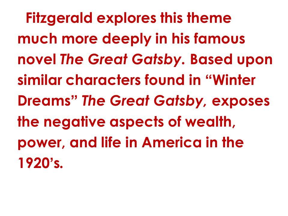 the great gatsby comparison essay
