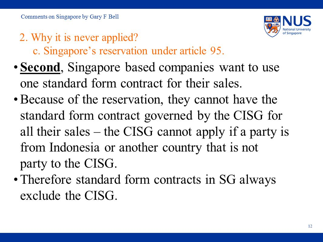 Comments on singapore by gary f bell comments on the papers on the 12 comments falaconquin