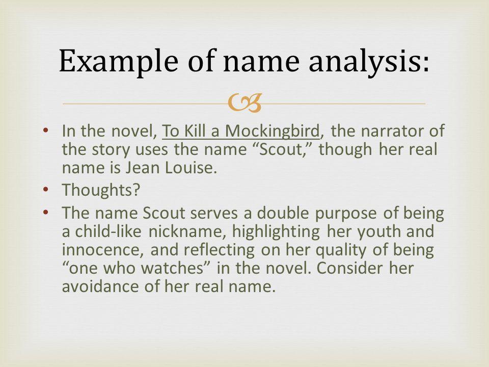 an analysis of the novel to kill a mockingbird