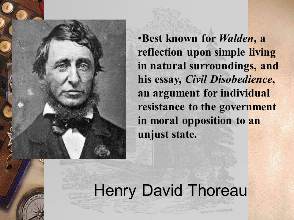 henry david thoreau best known for walden a reflection upon  1 henry