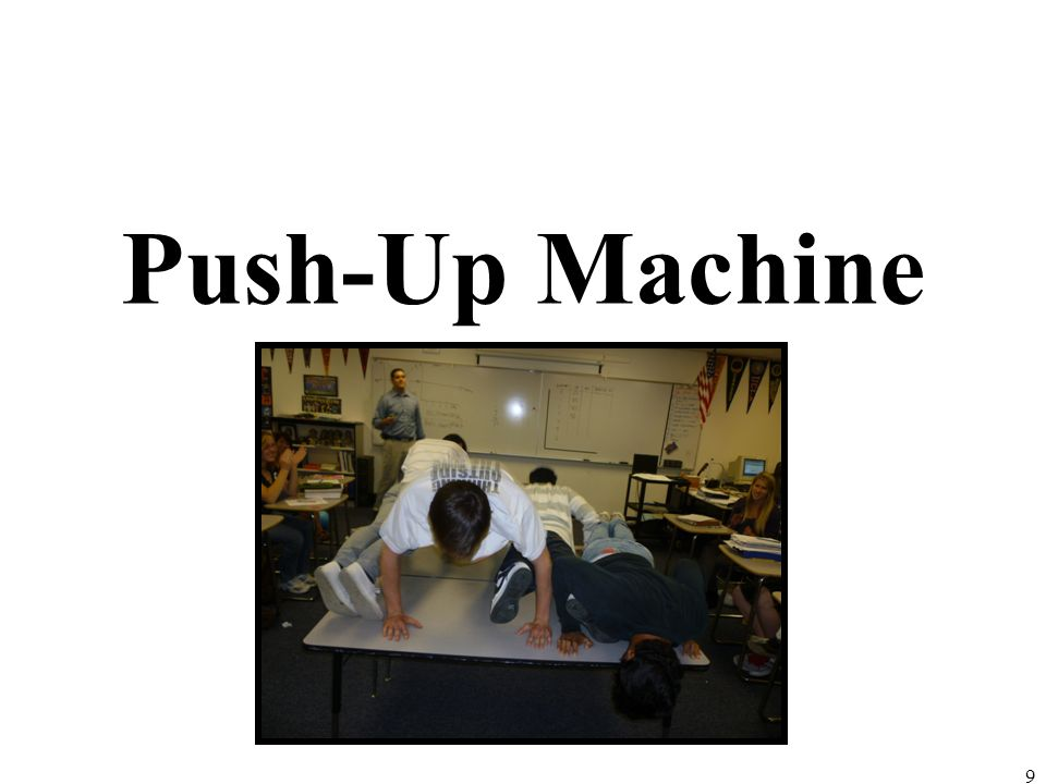 Push-Up Machine 9
