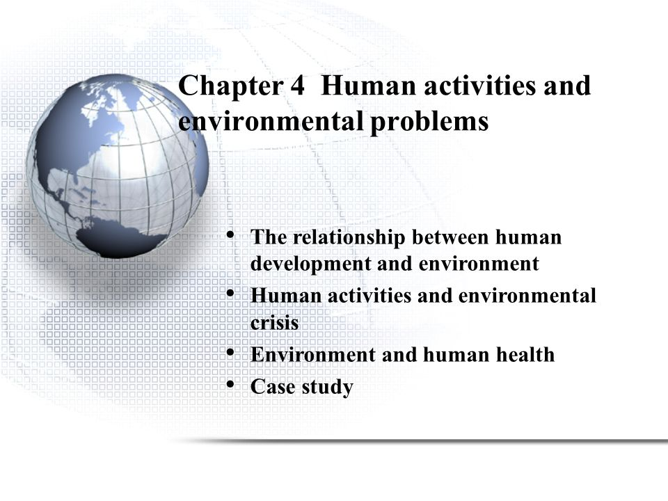 environmental change and human health case studies I environmental change and human health case studies i deon v canyon the australasian college of tropical medicine red hill queensland australia an actm publication.