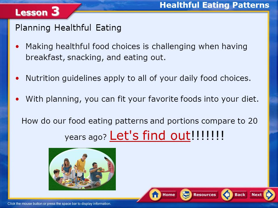 Lesson 3 Moderation in Salt Choose fruits and vegetables often.