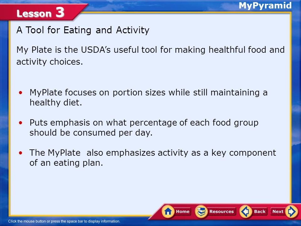 Lesson 3 As well as healthful eating, regular physical activity is important to staying well.