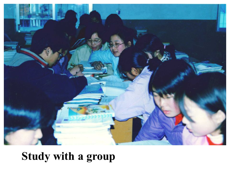 Study with a group