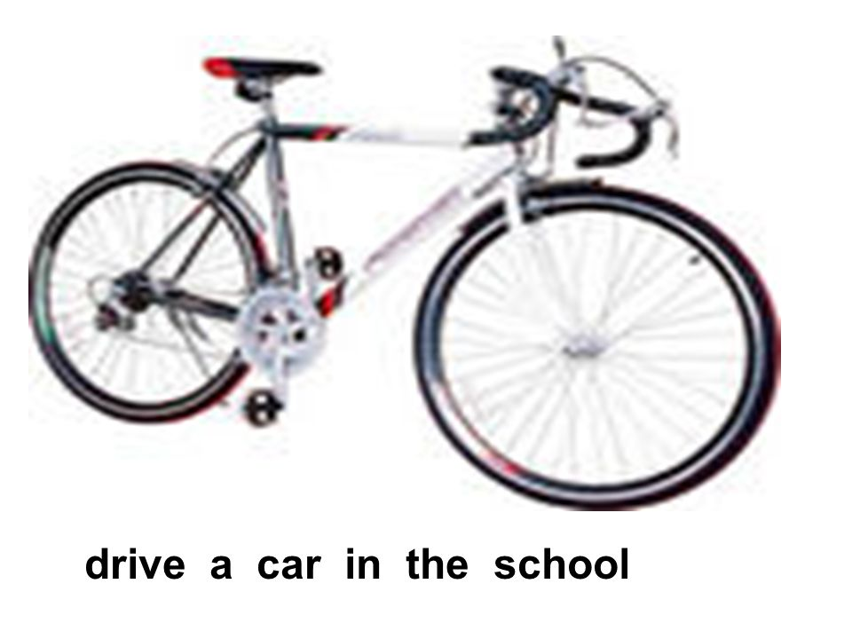 drive a car in the school